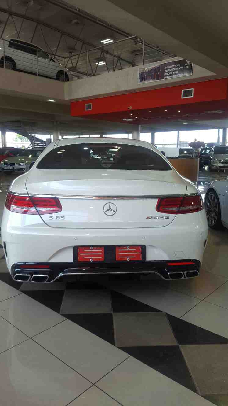 Mercedes-benz S-class S 63 Amg Coupe '14 - Current